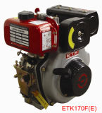 Moteur diesel refroidi à l'air de moteur de puissance (ETK170/178/186/188FS (E)