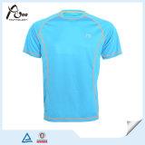 La Chine en gros conçoivent le T-shirt blanc de vert bleu