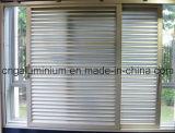 Porta deslizante de alumínio com obturador (100)