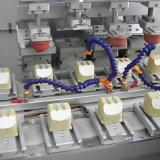 Принтер пусковой площадки подавая бутылки 4 цветов