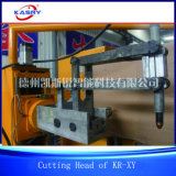 Línea cortadora de la intersección del tubo del metal de Kasry para la sección del braguero