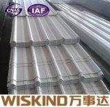 China Wiskind Azulejo de aço colorido para telhado