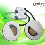 Cubierta en forma ovalada 75mm Recorte D85mm * H110mm 10W COB LED Downlight