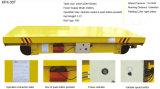 Vagone piano elettrico pesante di maneggio del materiale per il carico pesante di trasferimento
