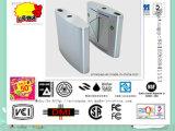 Manual de oscilación Puerta de torniquete, Supermercado Torniquete con lector de RFID paso automático de Tráfico / edificio de oficinas