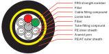 모든 절연성 자활하는 공중 케이블 (ADSS) (D201/D202)
