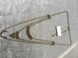 Retro Juwelen van de Manier van de Halsband van het Hof Edele