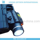 Both Laser Sight Scope 225 Lumens LED Flashlight Combo (ES-XL-2LL-R)에 스트로브 Function