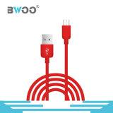 Chaud-Vente du câble usb coloré de caractéristiques pour la foudre /Micro/Type-C
