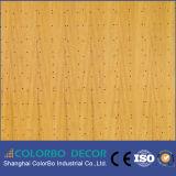 Panneau de mur acoustique en bois ignifuge de panneau