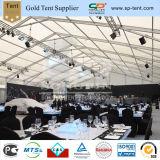 大きいアルミニウムフレームPVC結婚披露宴のための透過党テント