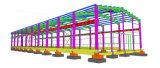Edificio porta del almacén de la estructura de acero de la luz del marco