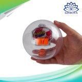 Lustiger Neuheit-Spinner-Handbasketball-Maschinen-Palmen-Basketball mit Licht + Musik + Korb AntiStres Spielzeug für Geschenk