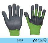 Gants en caoutchouc protecteurs de travail de performance de pelouse de jardin de PRO Knuckler de paume d'adhérence de choc