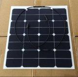 50W panneau solaire semi flexible, panneau solaire de Sunpower