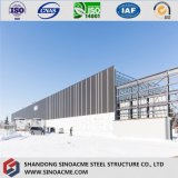 Vertiente de acero ligera prefabricada del almacenaje del almacén del diseño de la construcción