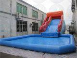 Riesiges aufblasbares Wasser-Plättchen mit grossem Pool