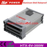 bloc d'alimentation de 5V70A DEL/lampe/bande flexible IP65 antipluie