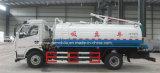 Camion-citerne aspirateur fécal d'aspiration de 6 de roues portées de Dongfeng 5500 à vendre