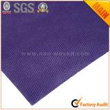 Púrpura oscura no tejida del material de embalaje del regalo de la flor No. 37