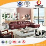 Sofá moderno do canto do Recliner do couro da mobília da sala de visitas (UL-R812)