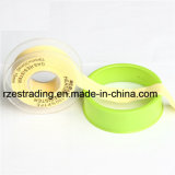 19mm Cinta de PTFE / PTFE junta fileteada cinta / cinta de teflón con el embalaje transparente