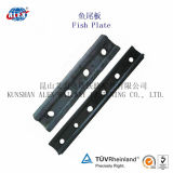 4 & 6 Holes Railway Fishplate for Steel Rail Connecting (UIC60)