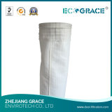 Saco de filtro não tecido de pano do filtro da fibra de vidro da fibra de vidro