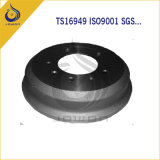 CNC Machining Iron Casting Truck Brake Drum mit Ts 16949
