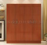 Moderne Schlafzimmer-Möbel-weiße hölzerne Öffnungs-Tür-Garderobe (SZ-WDT002)