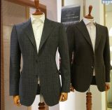 La aduana se adapta a juegos de lana de la cachemira de los hombres de los fabricantes de la alta calidad
