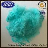 Farbige aufbereitete Polyester-Spinnfaser PSF (12dx51mm)