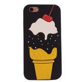 Caja del teléfono móvil de la historieta del helado para la cubierta del teléfono celular del iPhone 6 J5 J7 (XSF-068)
