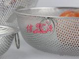 Cestino di verdure della maniglia del doppio dell'acciaio inossidabile (FT-00404)