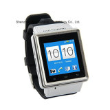 S6 montre intelligente, support 3G, GPS, Bluetooth, microphone, haut-parleur, slot pour carte de FT, fente micro d'USB, FM, WiFi
