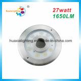 IP68 12V 27W 304/316のステンレス鋼LEDの噴水ライト、水中ライト