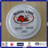 Niedrigster Preis fördernder Soem-Zeichen-PlastikFrisbee