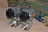 Sfera Valve 3PCS Type con Pneumatic Actuator