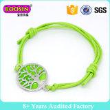 Armband van de Charme van de Kabel van het Leer van het Embleem van de Douane van de Oneindigheid van Fasihon de Gelukkige Sexy