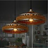 Muito iluminação antiga da lâmpada do pendente da corda do estilo da forma 2015