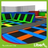 Precios comerciales de interior del parque del trampolín de Liben
