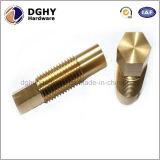 O bronze feito sob encomenda do CNC da elevada precisão parte fornecedores da fábrica de China
