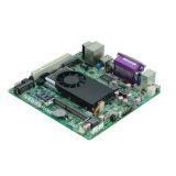 原子D425の小型ITXによって埋め込まれる産業マザーボード2 COM、8 USBのDC電源
