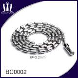 Ожерелье цепи шарика горячего металла цветастое 3.2mm сбываний