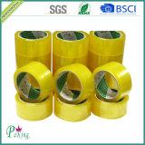 Bande de empaquetage adhésive à faible bruit de BOPP pour le cachetage de carton (P020)