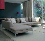 이탈리아 집 사용 (SF026)를 위한 큰 L 모양 직물 소파