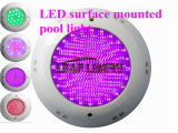 18W RGB Stainless Surface Mounted LED Swimming Pool Light Bulb Lamp AC12V LED Underwater