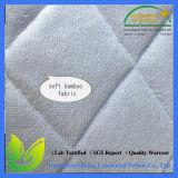 Protezione impermeabile imbottita del materasso per l'hotel