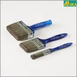 sistema de cepillo plástico azul de pintura del filamento del animal doméstico de 3PCS Beavertail