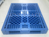 Pálete enfrentada dobro resistente do plástico do armazenamento do armazém